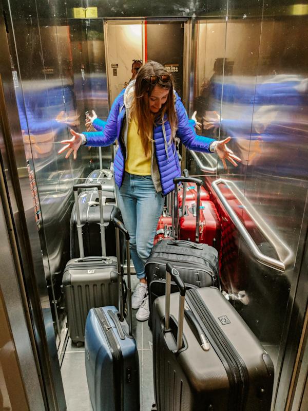 israel-anreise-einreise-tipps-flughafen-münchen-terminal-f-16-gepäck