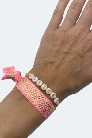 Armbandset BLESSED pink